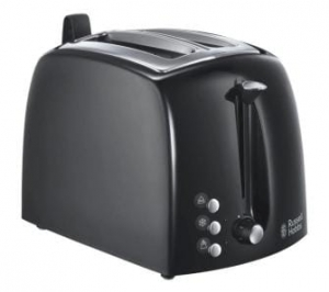 TOSTER RUSSELL HOBBS TEXTURES BLACK 22601-56
